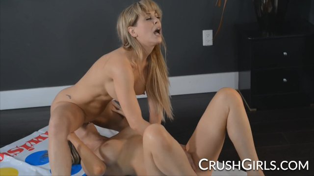 Cherie Deville and Brett Rossi play naughty twister