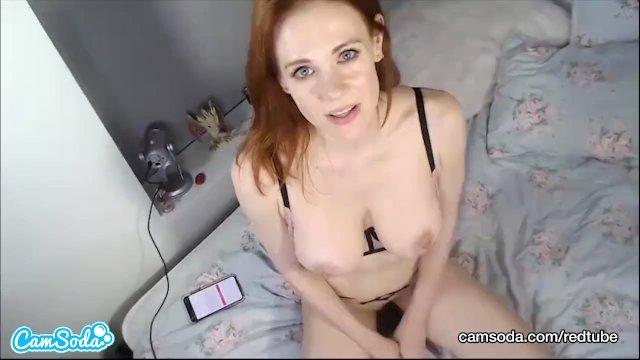 CamSoda - Maitland Ward Redhead Fox Big Tits Masturbation