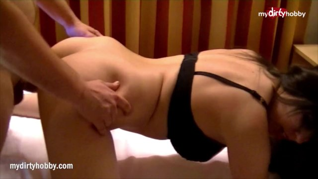 MyDirtyHobby - Virgin service boys first time with an amateur brunette