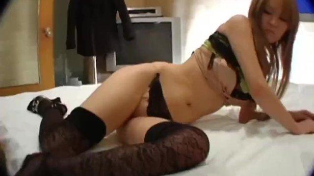 Hitomi in seductive amateur scenes with a random guy - More at 69avs com