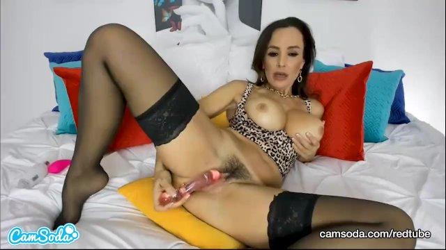 Camsoda - HOT MILF Lisa Ann Big Tits Masturbation