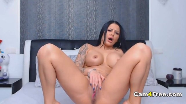 Spanish Babe Fingers Her Ass and Pussy
