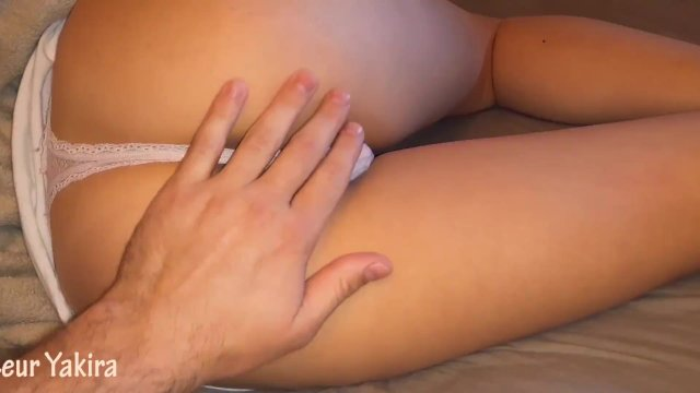 Touching my drunk step sister and cumming inside her pussy