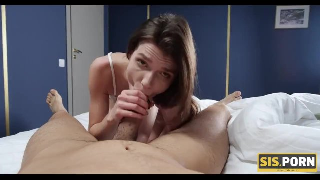 SIS. PORN. Lucky stud drills attractive stepsisters tight