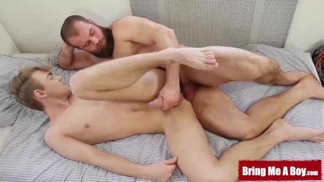 BRINGMEABOY Young Lucian Fair Passionately Fucks Hairy Daddy