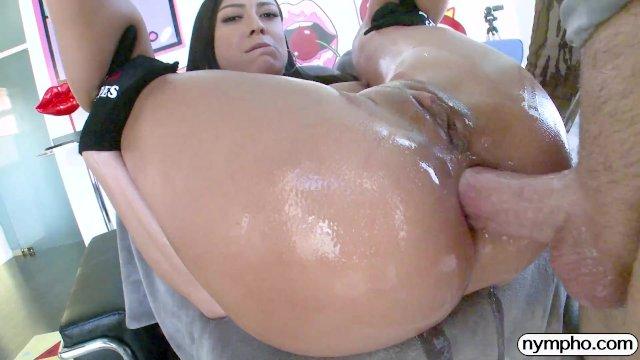 NYMPHO Pounding Cassie Del Isla s tight fuck holes