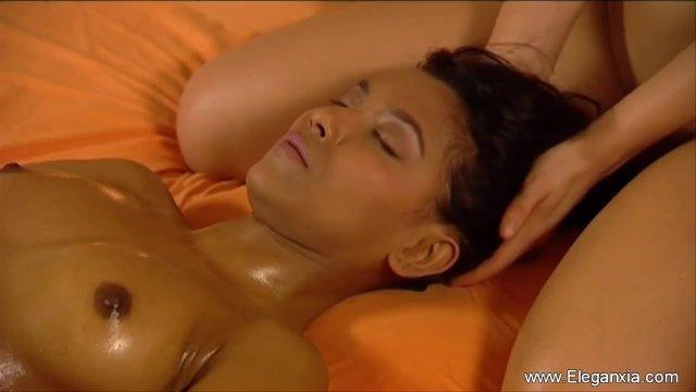 Massage Elegance Between Girlfriends