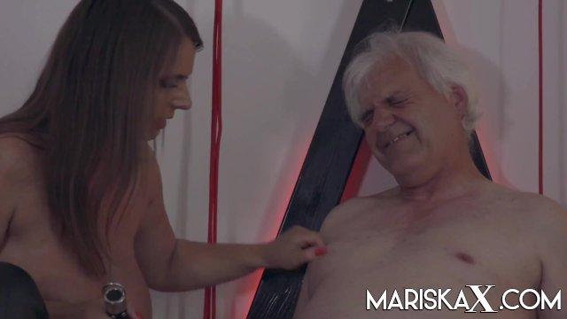MARISKAX Big tit babe Sexy Susi dominates her sugar daddy