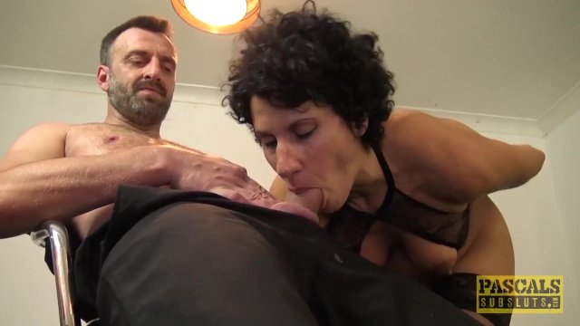 PASCALSSUBSLUTS - Submissive Red Rose Rammed and Fed Cum