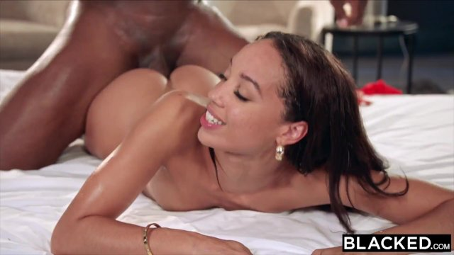 BLACKED College student Alexis seduces her sister s hubby