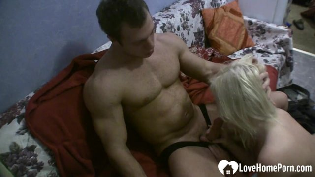 Sensational blonde gets her tight wet pussy smashed