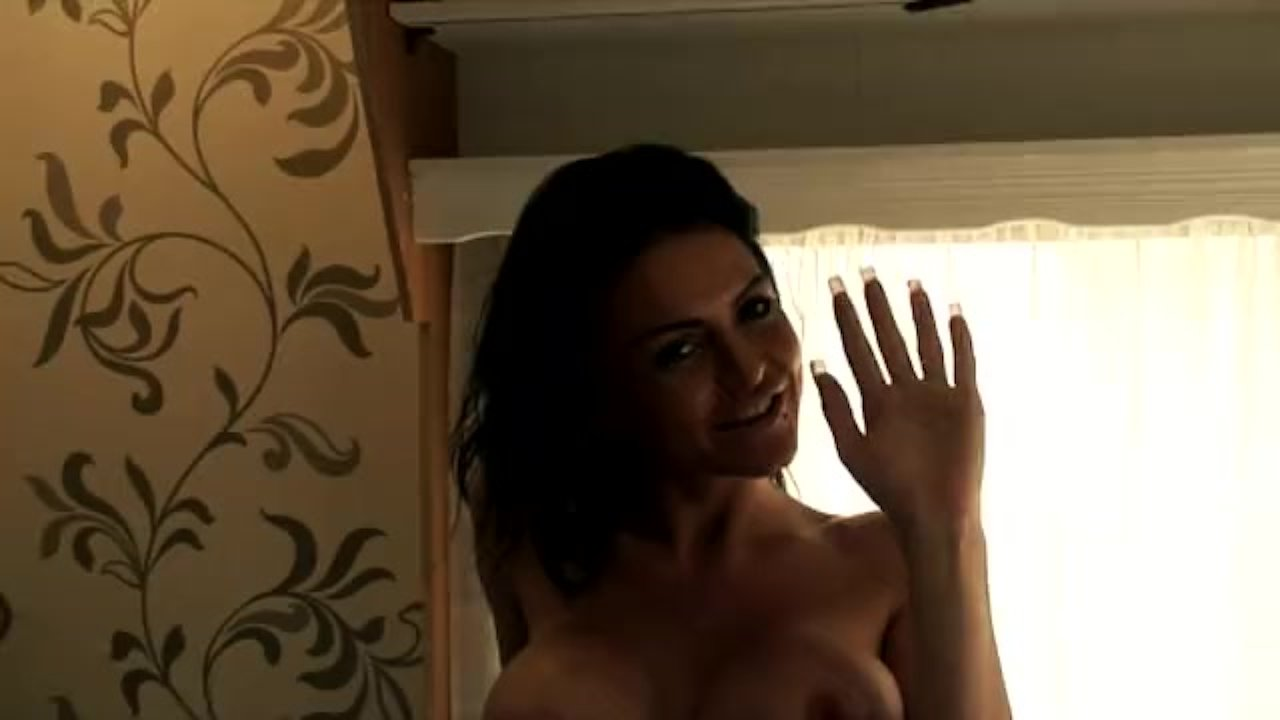 Stacey Lacey showing her new tits on Television X