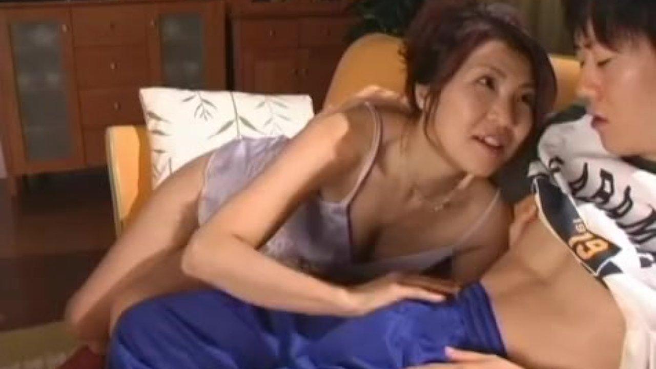 Horny japanese mature babes sucking - RedTube