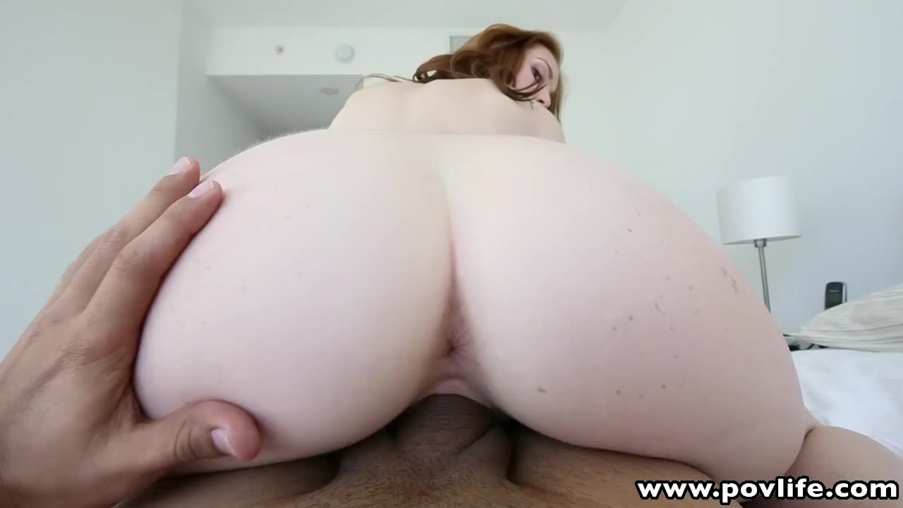 Redhead babe back for another big cock poundi