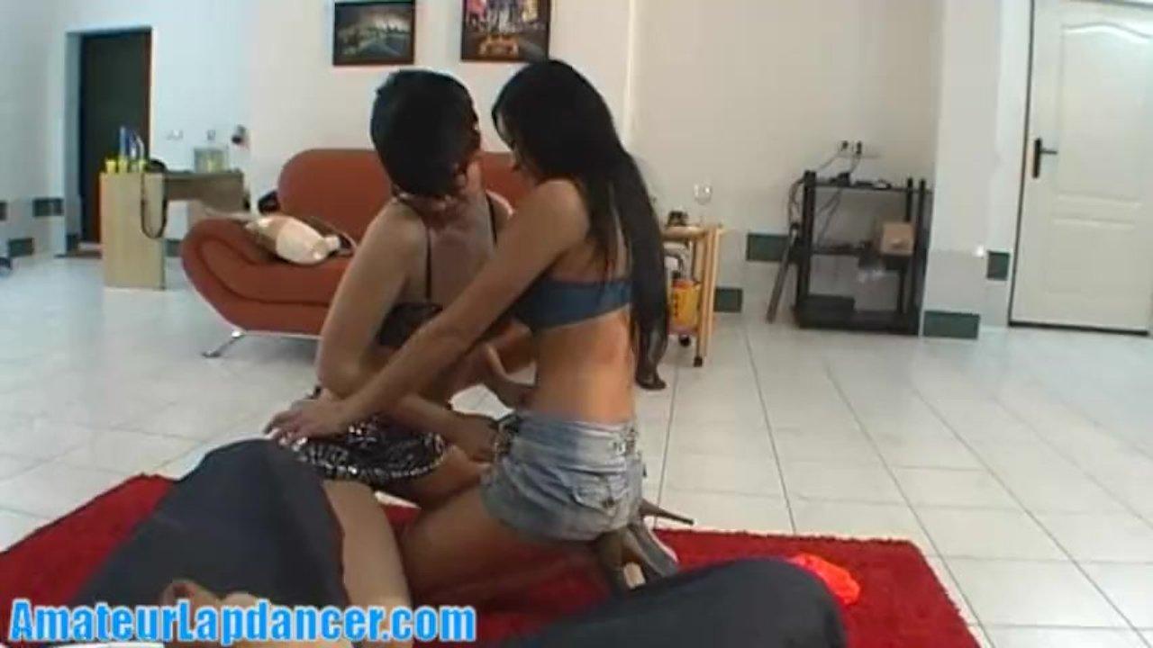 AnalAcrobats Lesbian Adventures with Huge Dildo