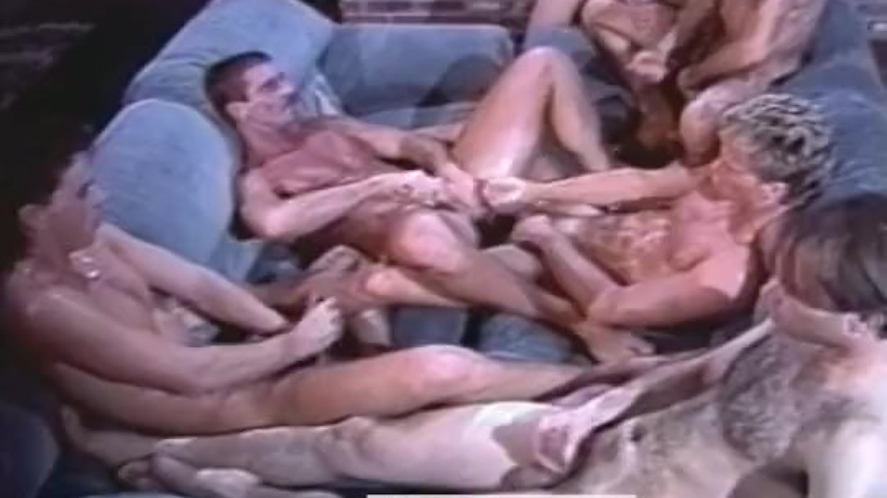 Cabin Fever Porn Gay 6-man orgy from cabin fever (1988)