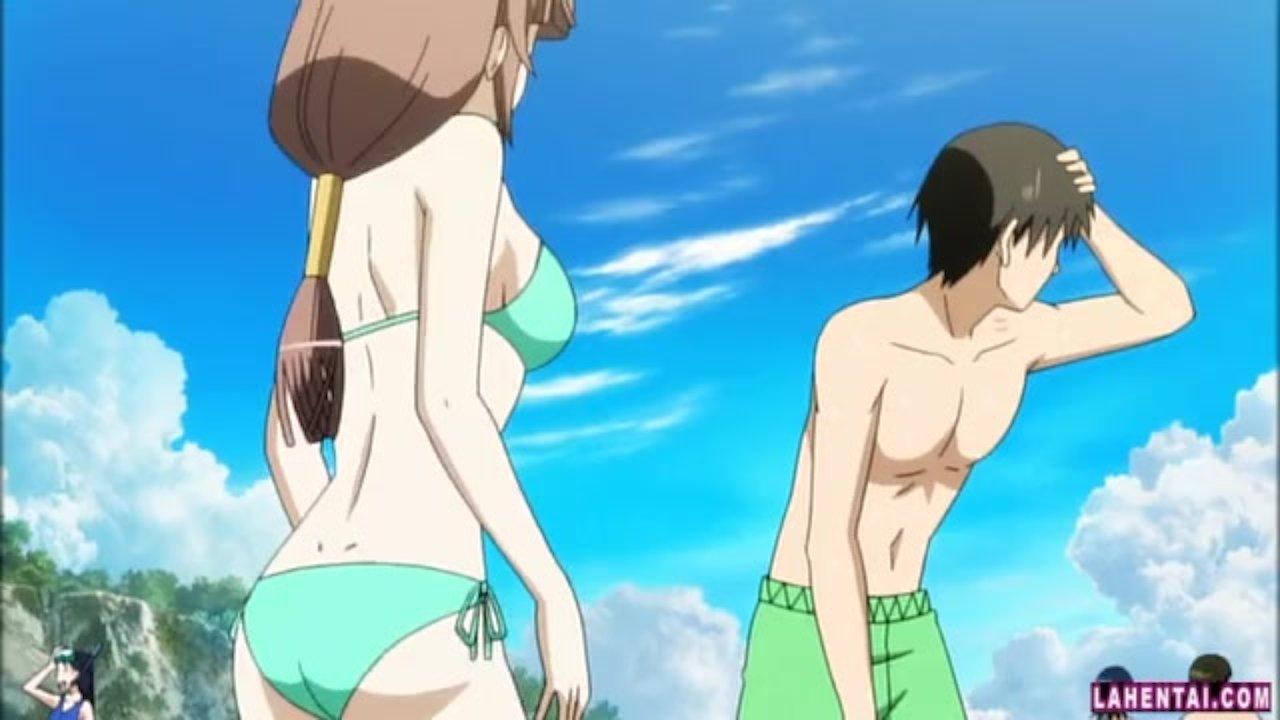 Hentai spiaggia porno