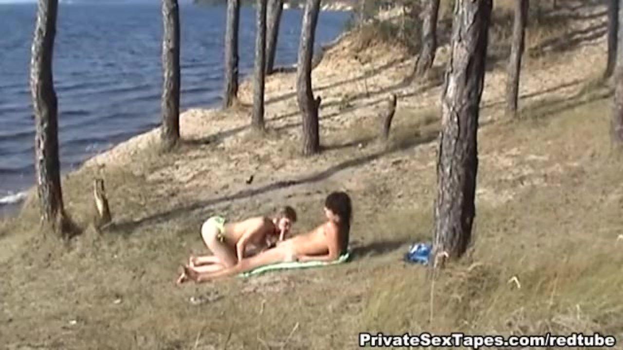 Killer hot nude couple fucking on the desolat   Redtube Free Blowjob Porn
