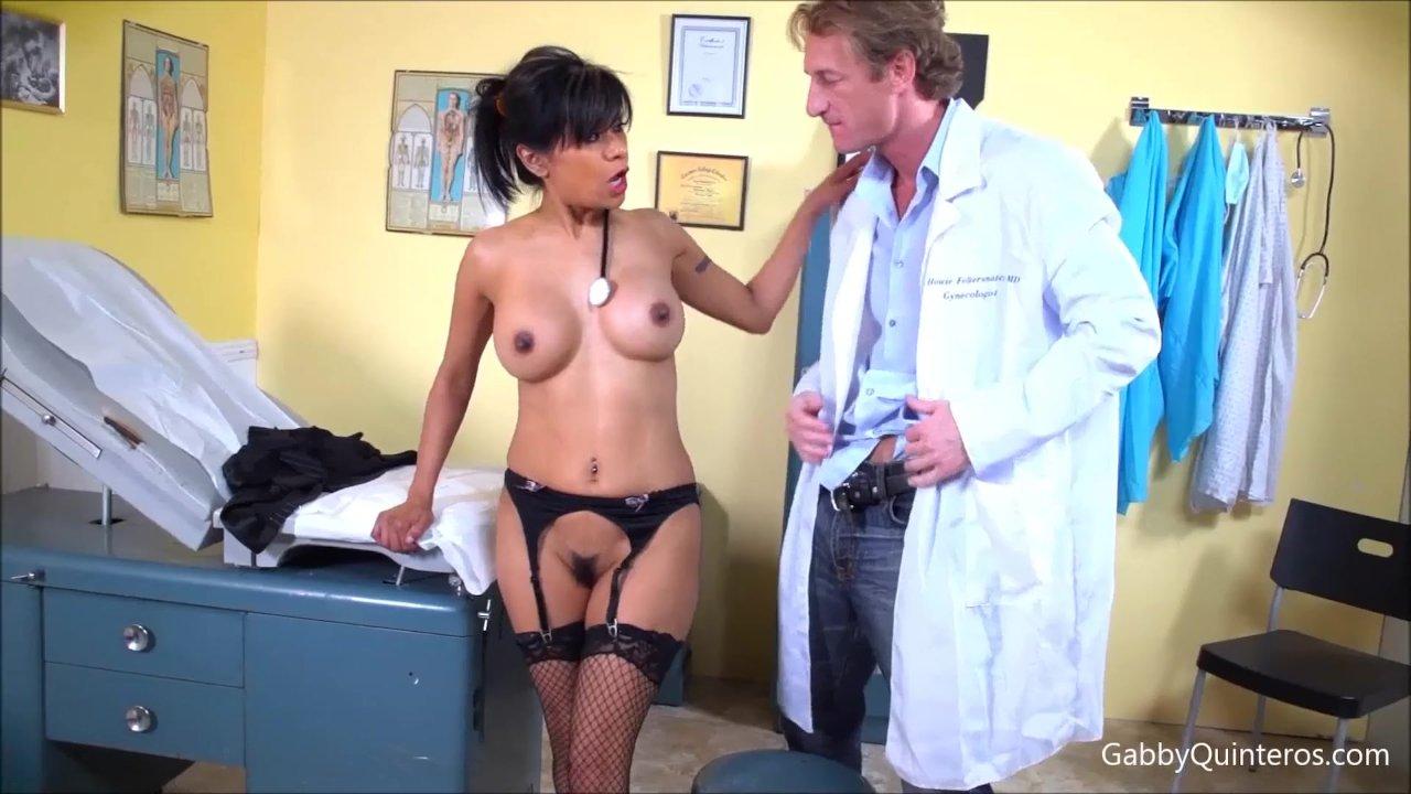 MexiMILF Gabby Quinteros Sucks & Fucks Her Dr