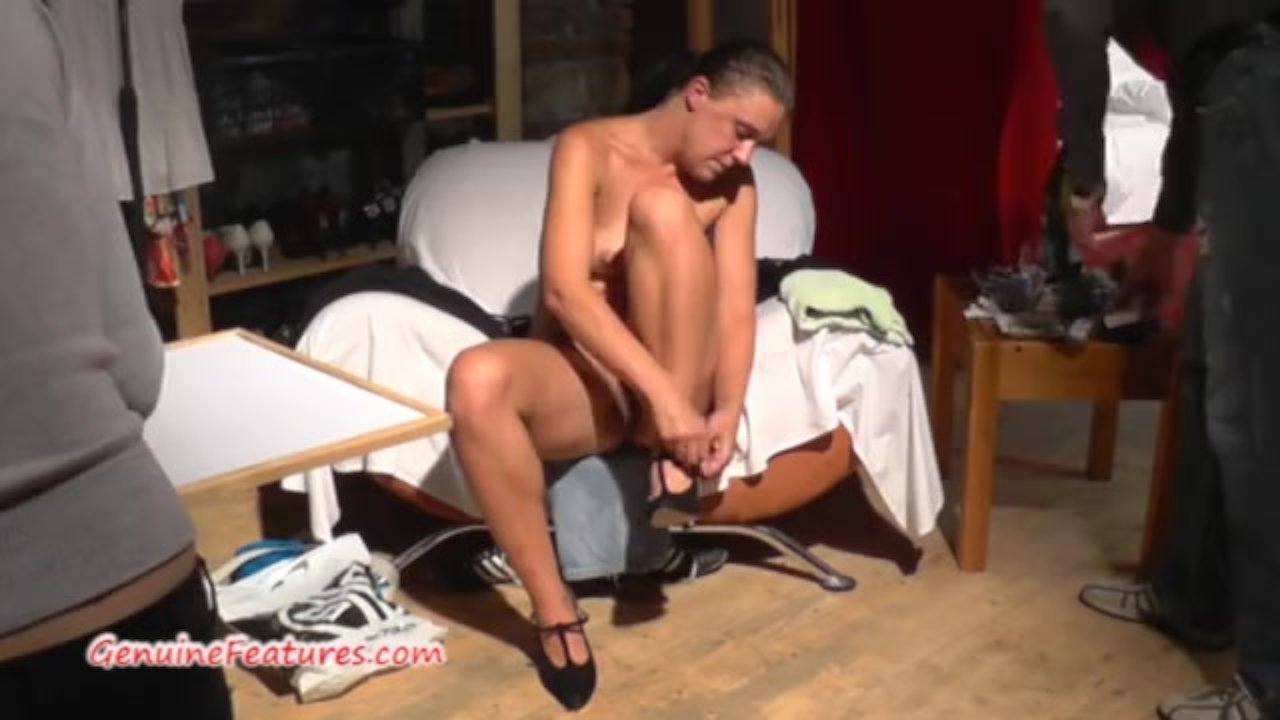 Hardcore fuck and interview with horny czech