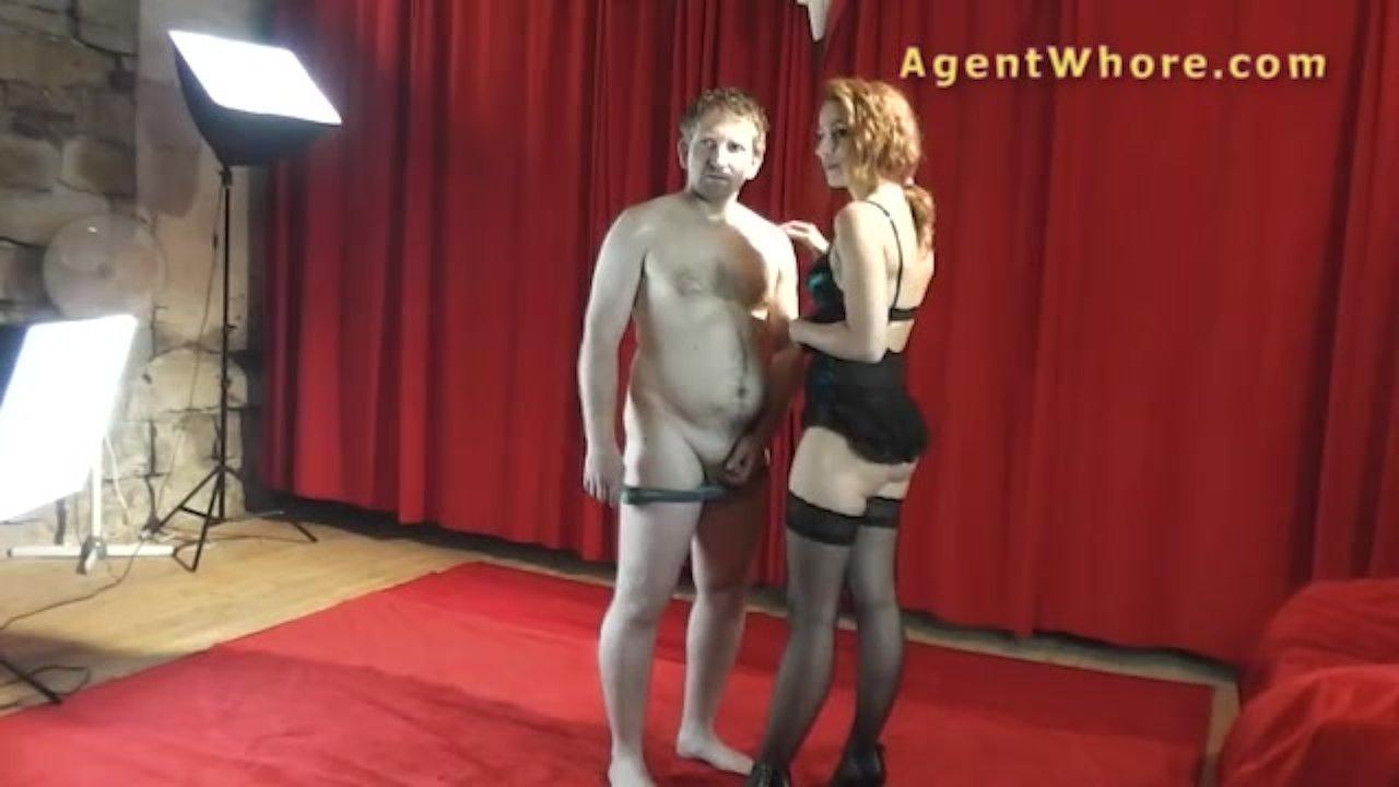 Agent Whore reversed casting - slovak guy gets blowjob