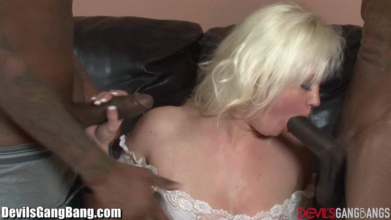 DevilsGangbangs Dirty Slut Anal Creampied