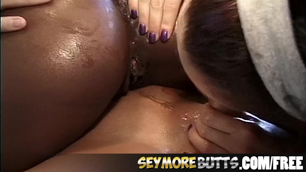 Ebony Slut Does Anal Cowgirl For Jizz
