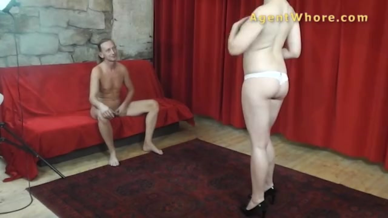 Agent Whore busty agent whore shows boobs massage to men