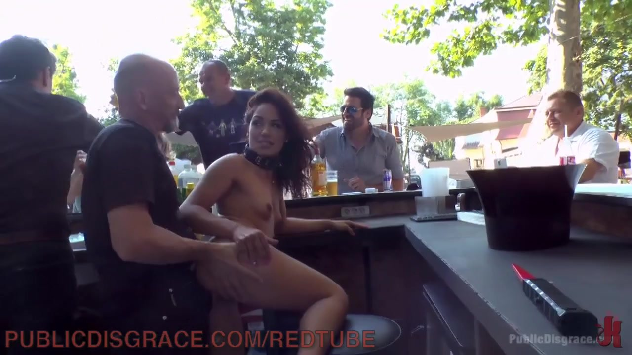 Outdoor Fucking Leaves Her Covered In Cum