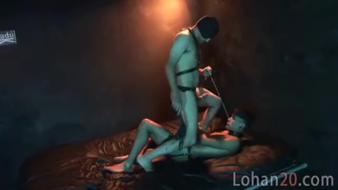 Submissive puppy for an old gay master