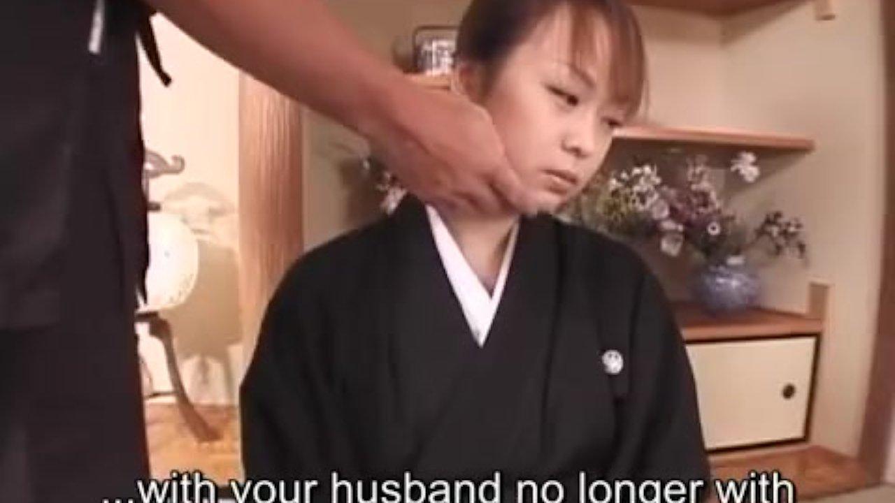 Subtitled mourning japanese wife aya otosaki debt payback on gotporn