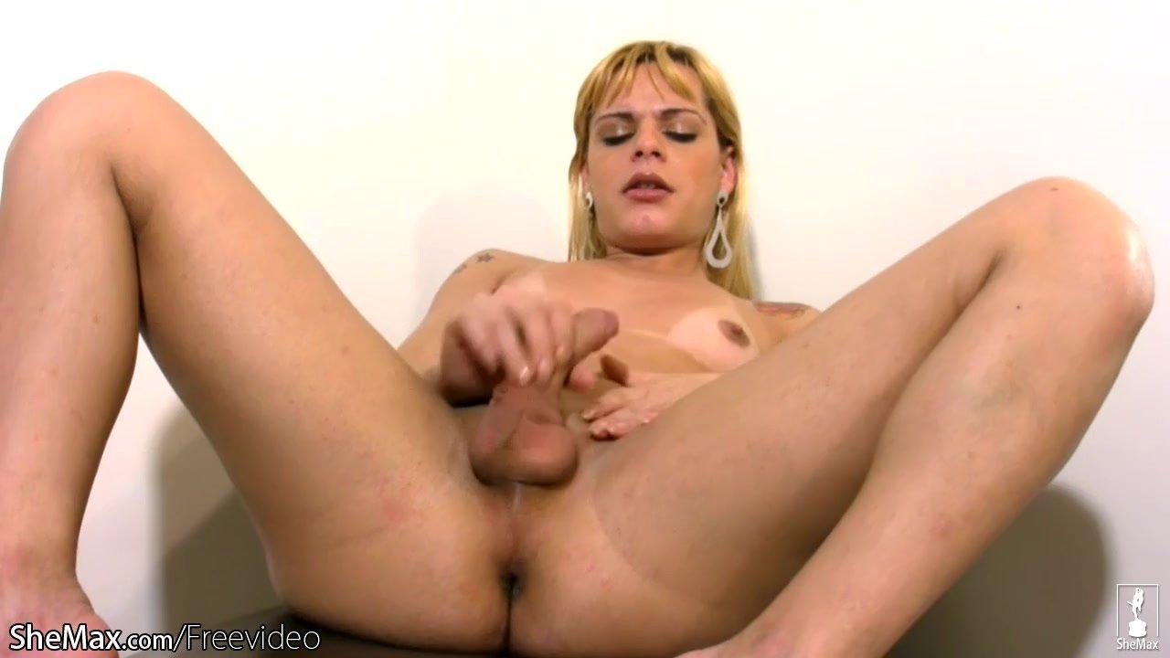 Teen Blonde Shemale Er Finger Fucking Big Barberet Barberet-3455