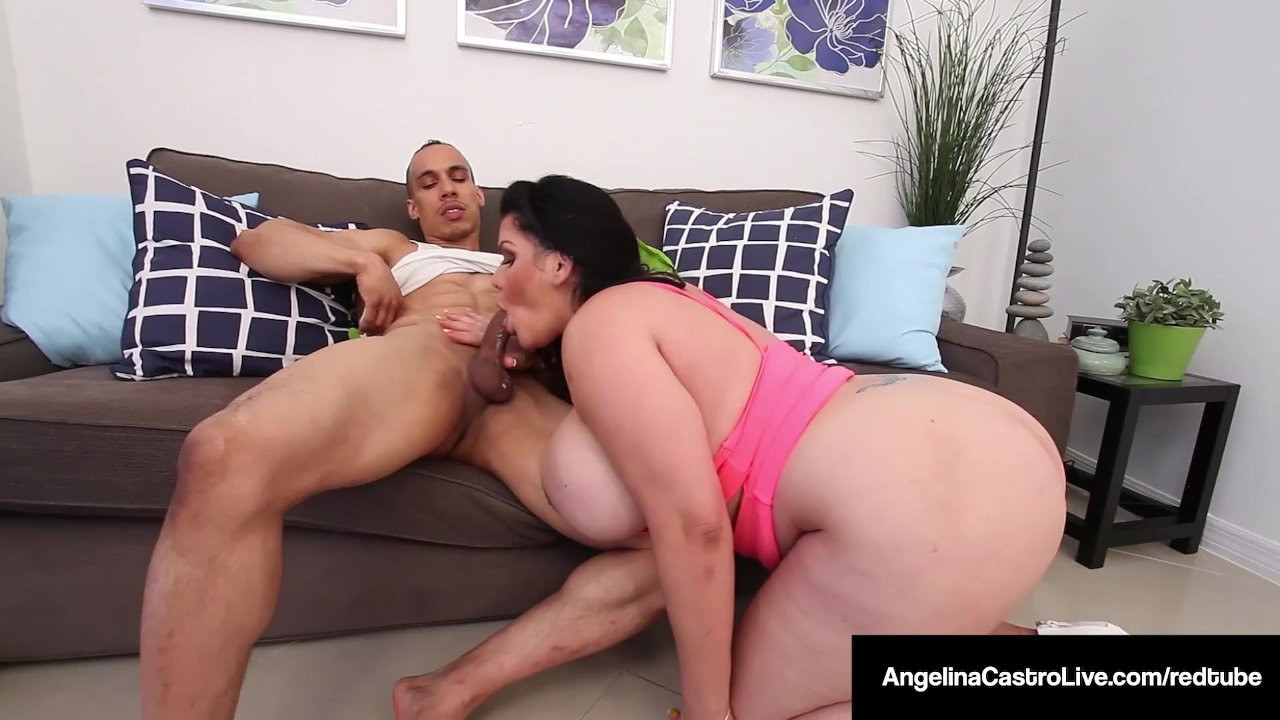 Angelina Castro's Cuban Mouth Is All Over Puerto Rock's Cock! | Redtube  Free BBW Porn