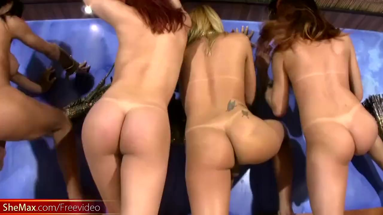 Leaked FULL video of Four TS girlfriends in wild fuck orgies