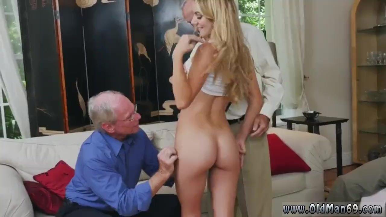 Old man vs young girl hot beach Molly Earns