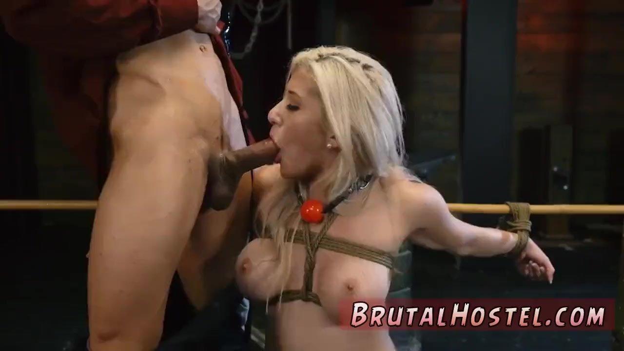 Bondage gangbang and blackmail Big-breasted