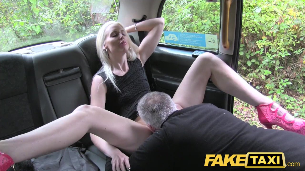 Female Fake Taxi Busty Blonde