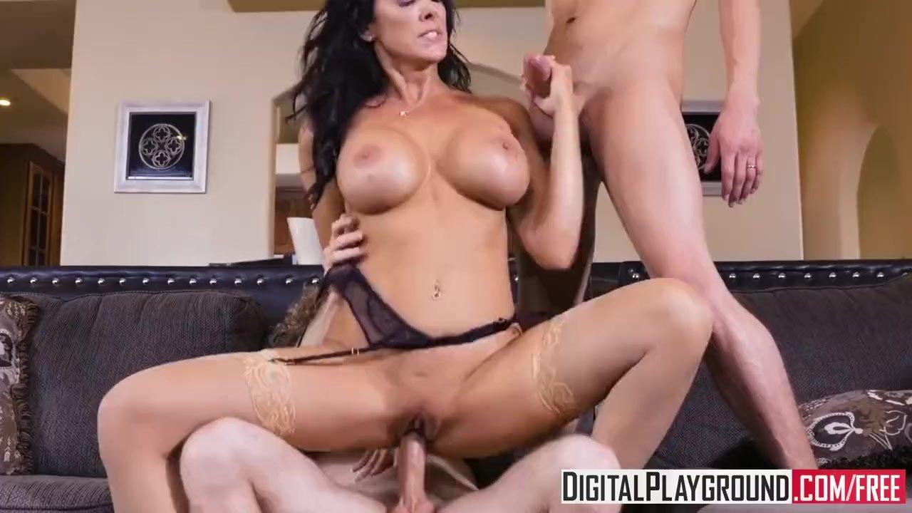 DigitalPlayground - My Wifes Hot Sister Episode Reagan Foxx takes two cocks  | Redtube Free MILF Porn