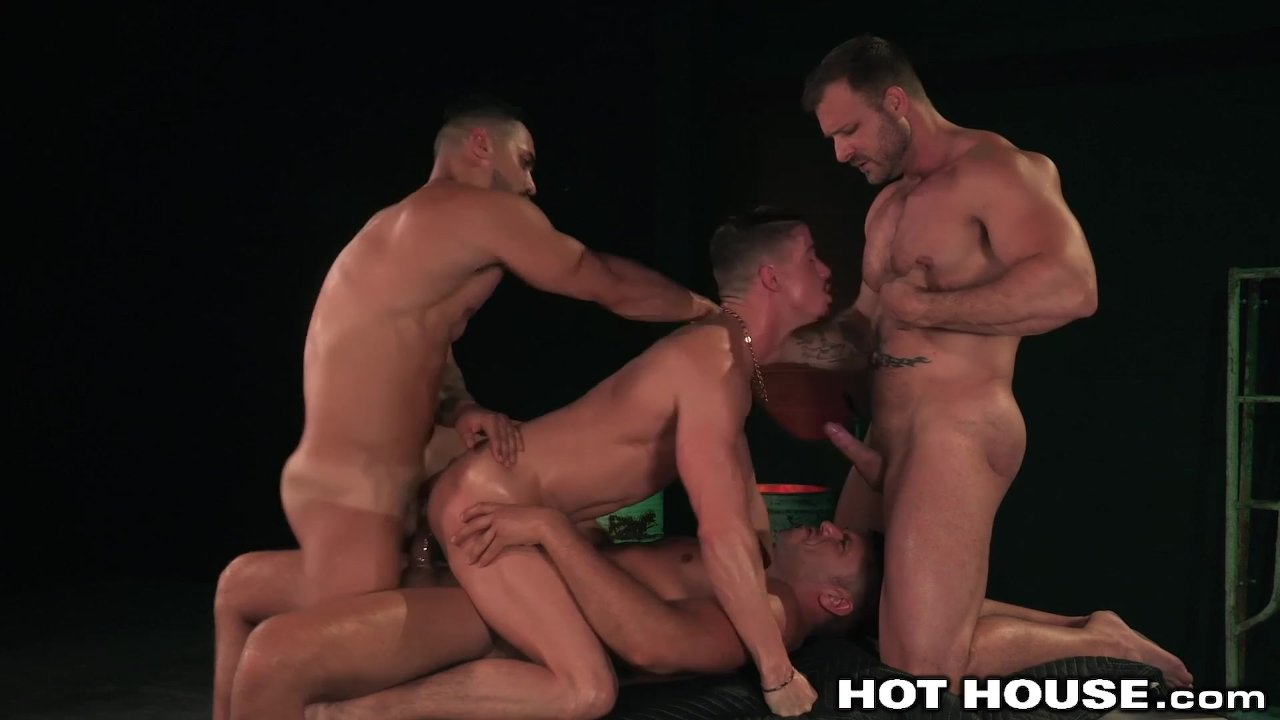 Austin Wolf  3 Muscle Hunks Fucking - Hot Dp Daddy Group  Redtube Free Gay Porn-8477