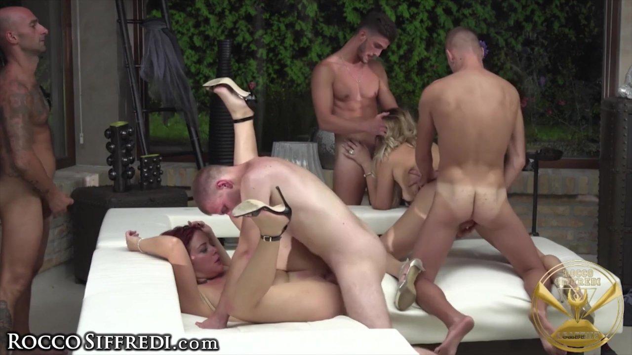 Rocco Siffredi orgie