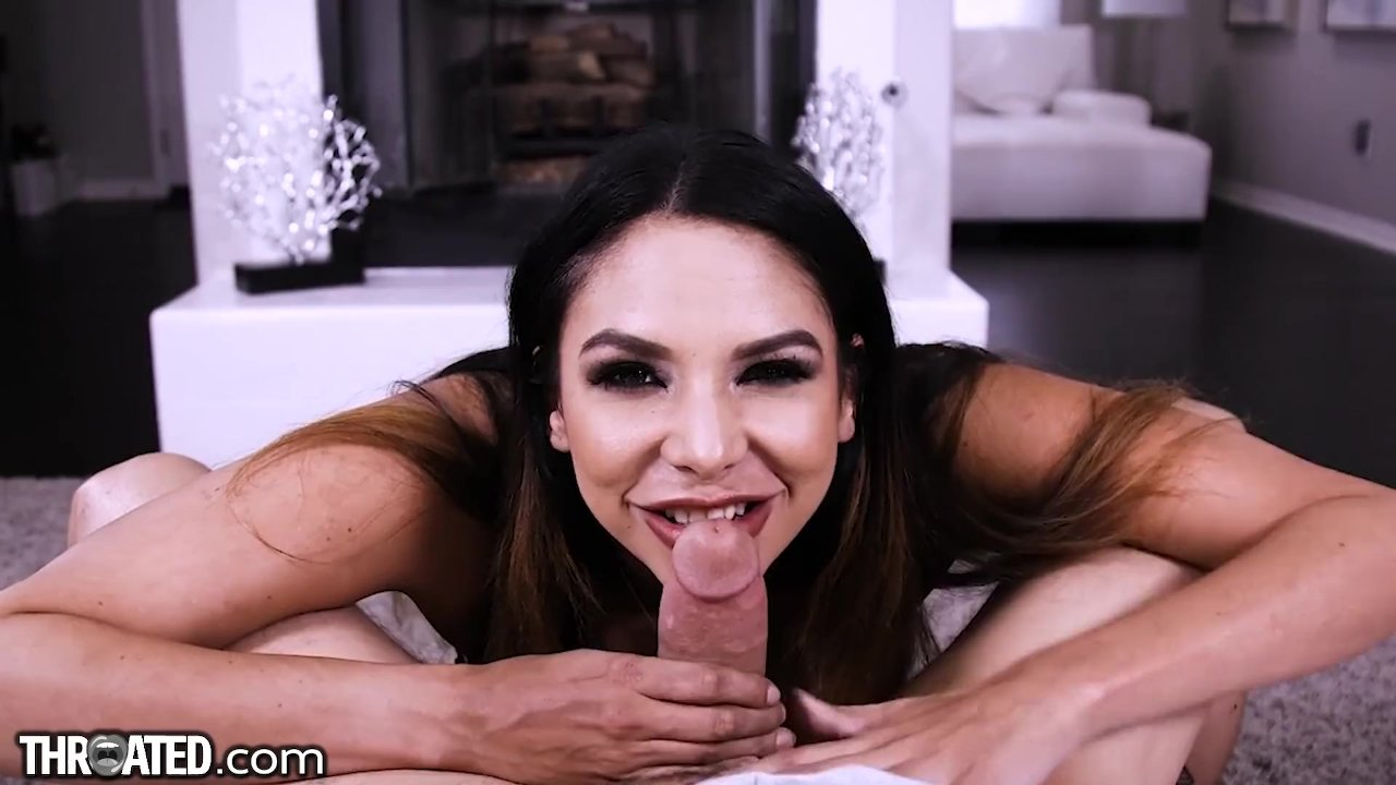 Throated Missy Martinez Sloppy Throatfuck and Funny Interview!