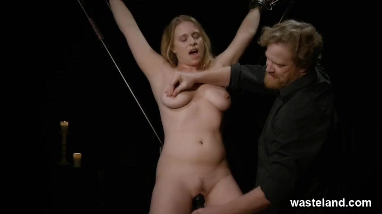 Tickling And Toy Torture With Bondage In Bdsm Kink Play -8774