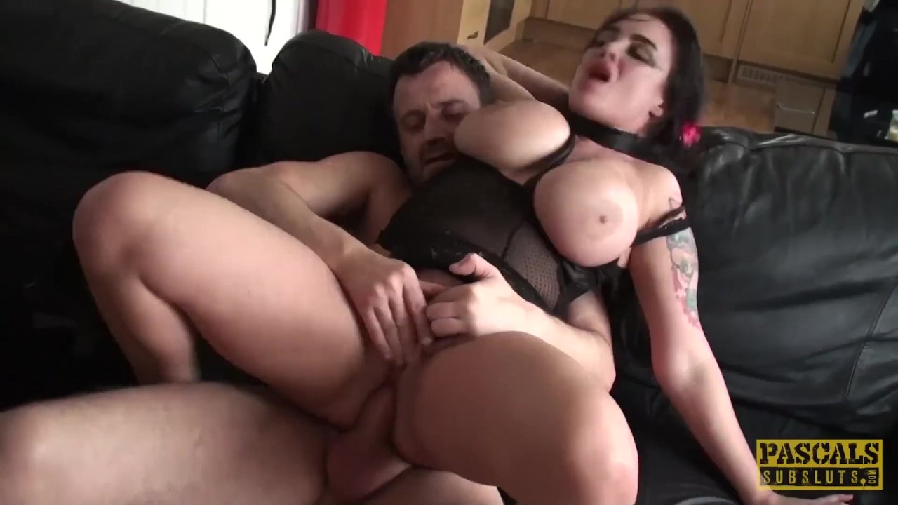 PASCALSSUBSLUTS - Busty MILF submits to rough sex master
