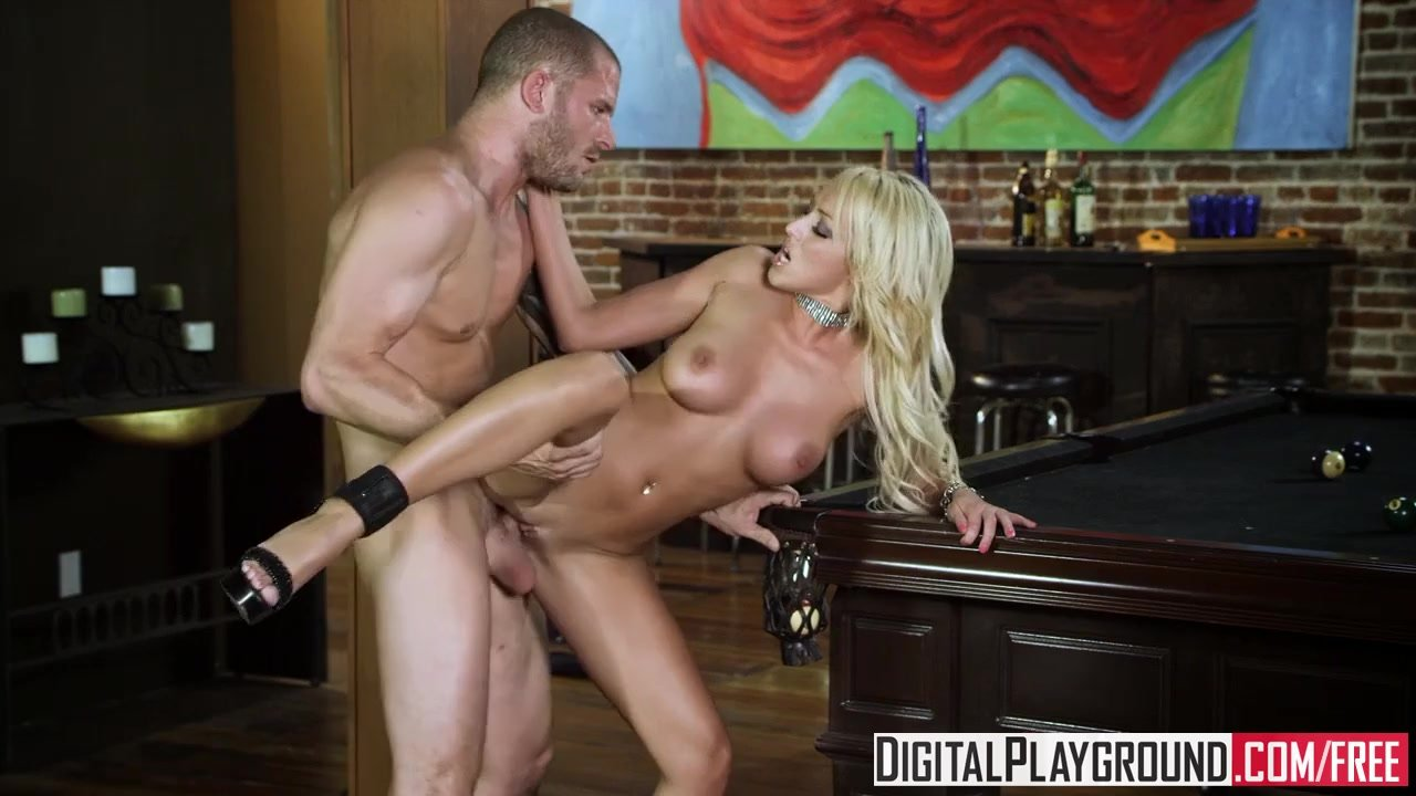 DigitalPlayground -  Hot blonde Pool slut Breanne Benson does not mess arou