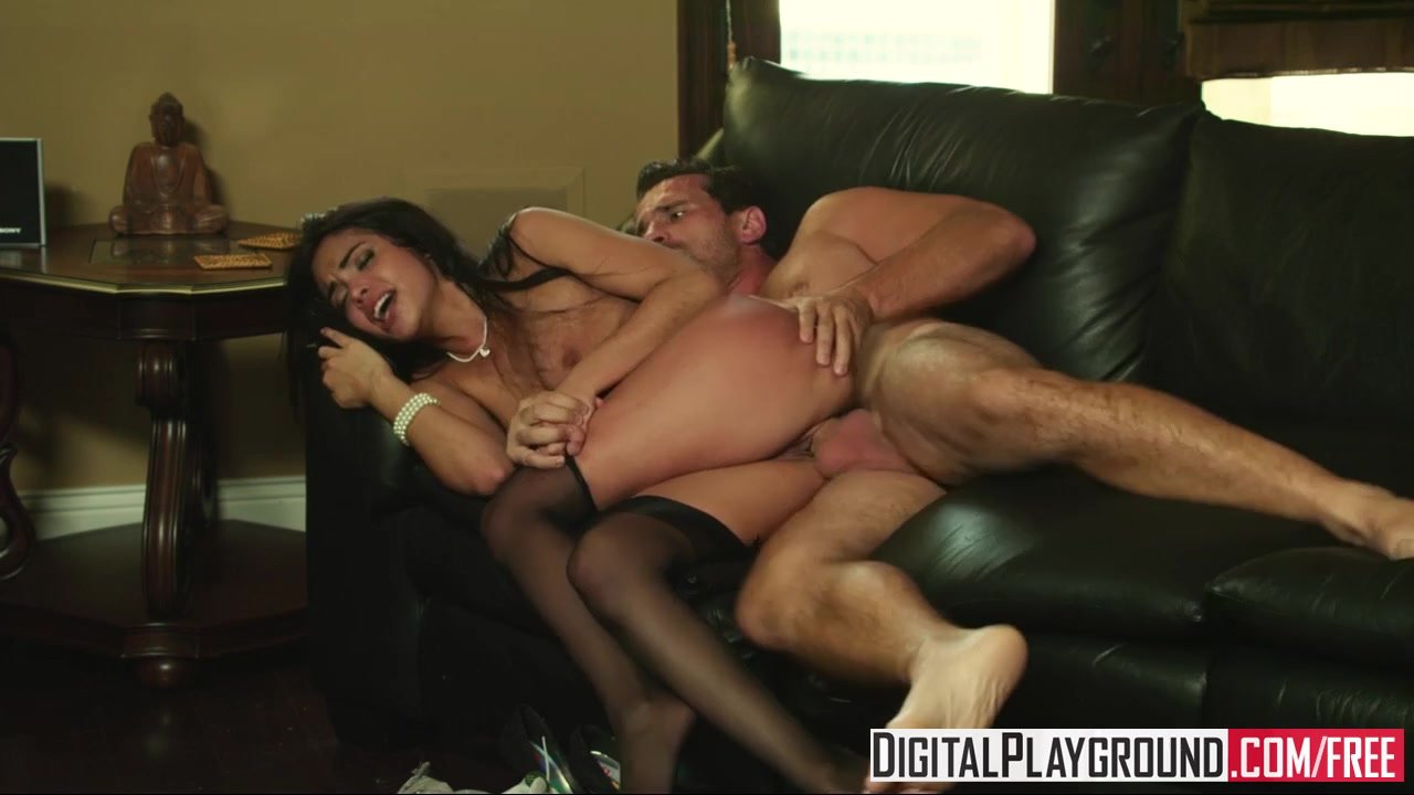 Digital Playground - Slutty Maid Selena Rose like it rough with Manuel Ferr