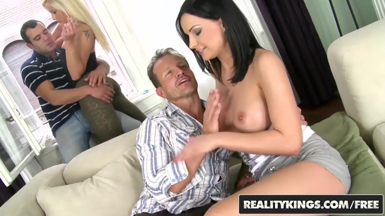 Athina Cumlouder Bed Porn reality kings - euro foursome sex party orgy