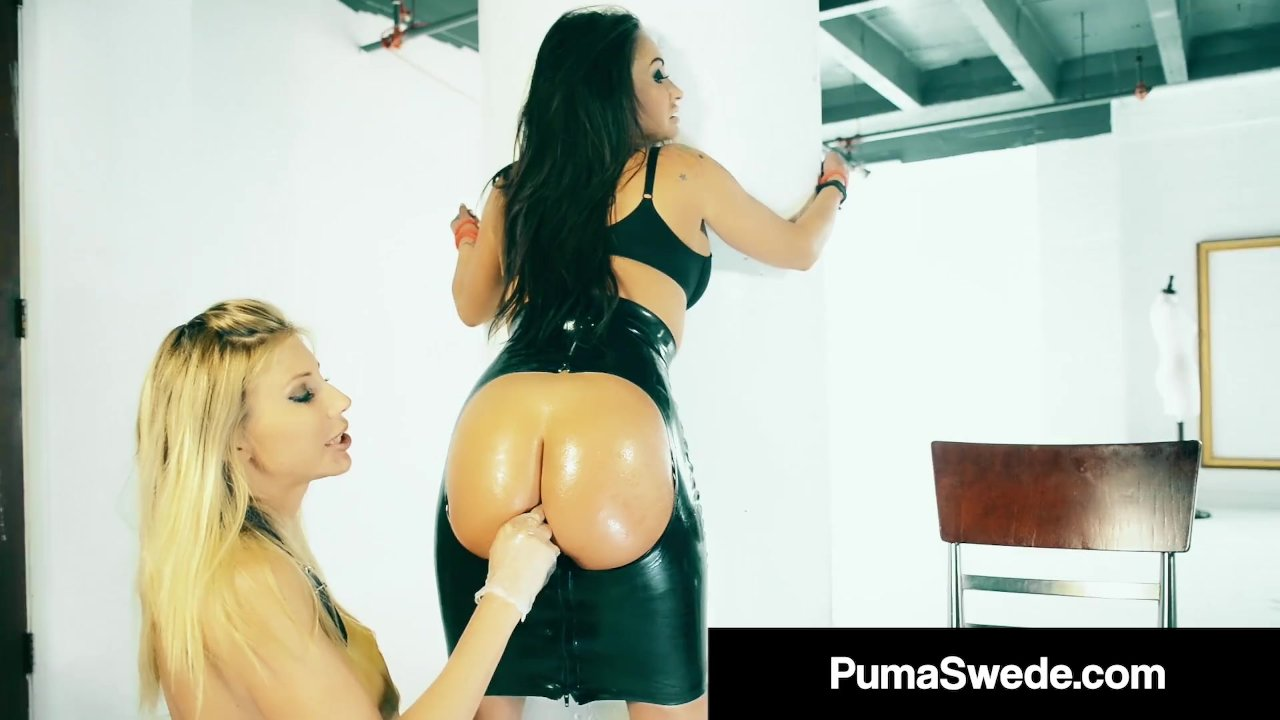 Busty Blonde Babe Puma Swede Anal Bangs Claudia Valentine!