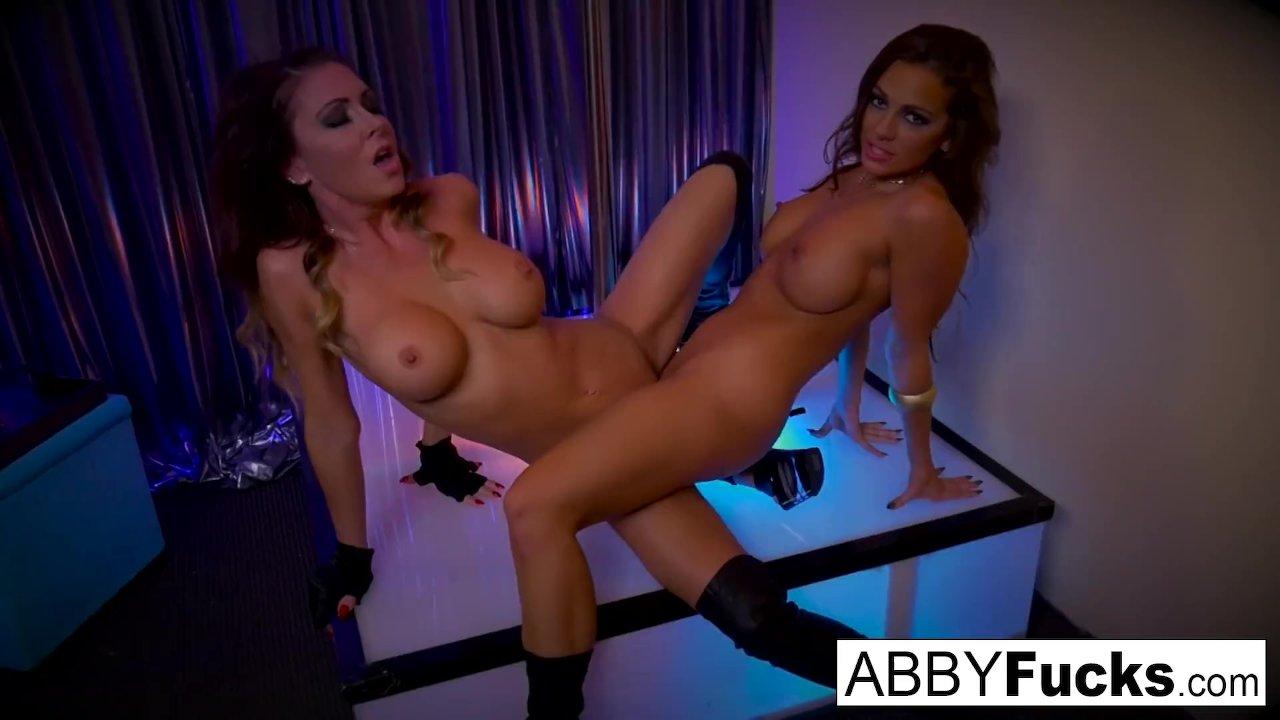 Abigail Mac Strips Then Fucks Her Stripper Friend Redtube