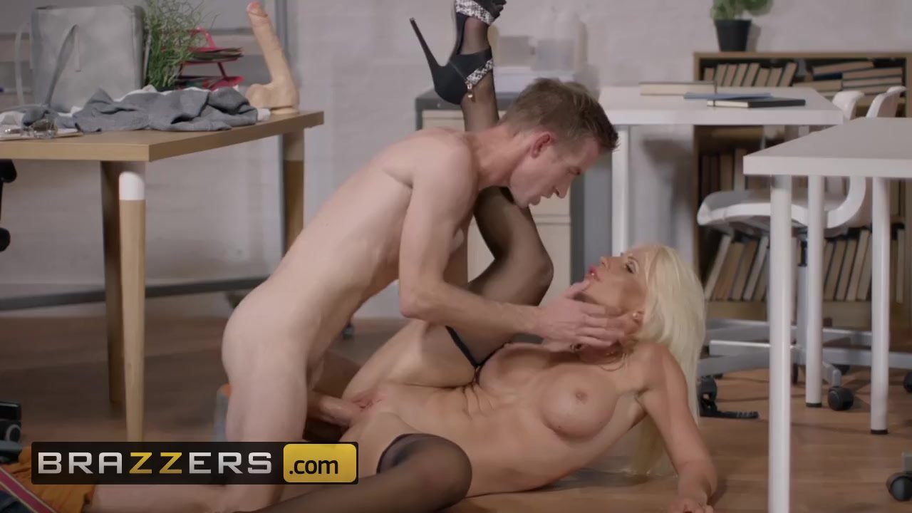 Look at this milf, I think our Substitute teacher is a pornstar - Brazzers
