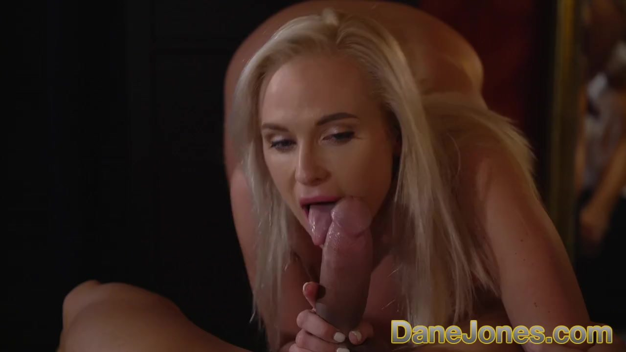 Dane Jones Big cock stud worships amazing natural body of blonde beauty